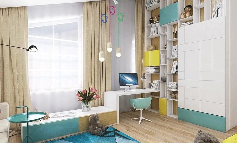 дизайнерская мебель для детей должна быть красивой